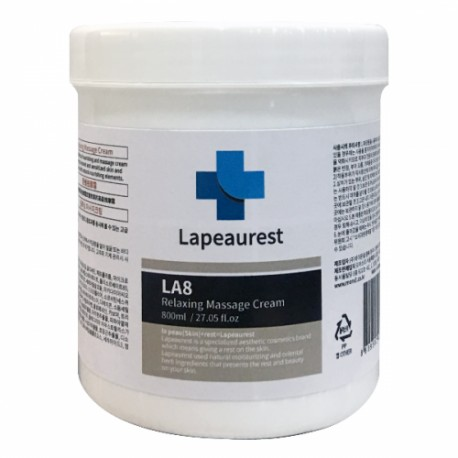 LA8 Relaxing Massage Cream