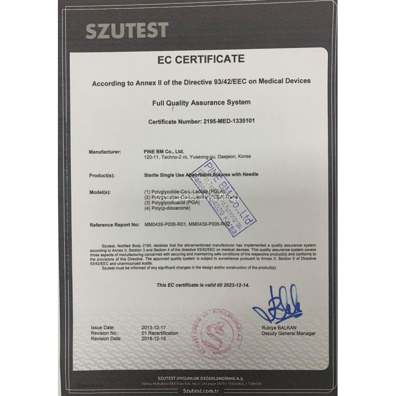Essorb MONO PDO Thread Lift with CE certification