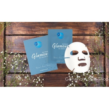 Glamour Bio-Cellulose Repair Mask (5 PCS)  BUY TWO GET ONE FREE