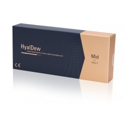 Hyaldew cosmetic fillers Mid