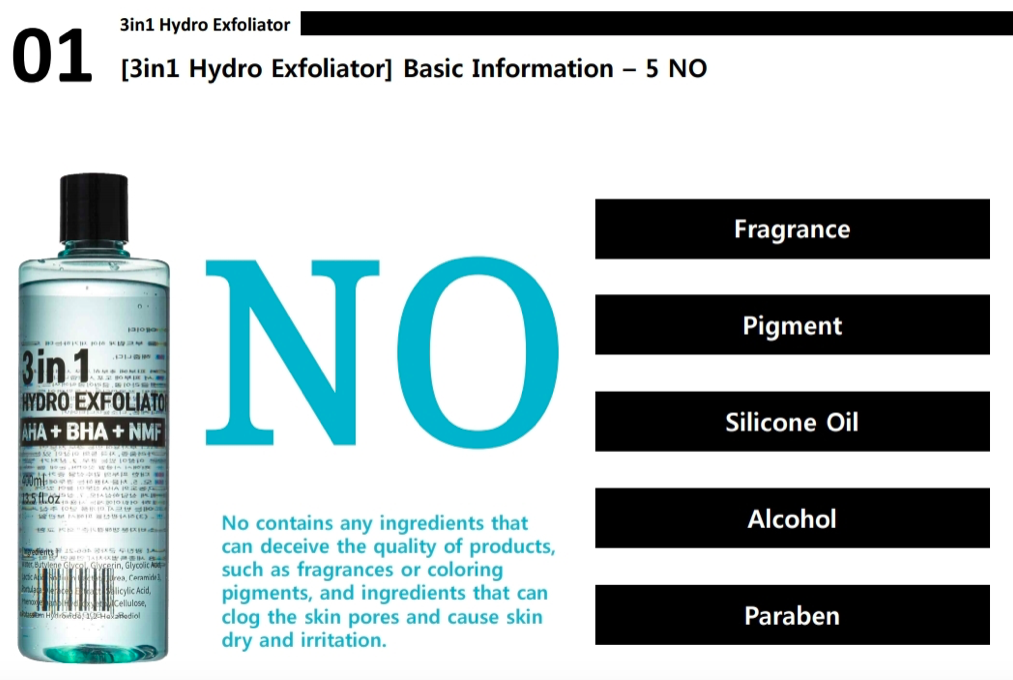 3 in 1 hydro exfoliator omega hydro peel