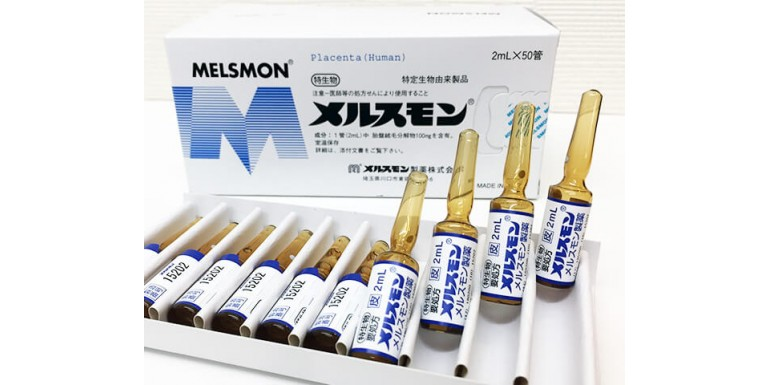 Melsmon human placenta injection : History of Asian anti-aging secert