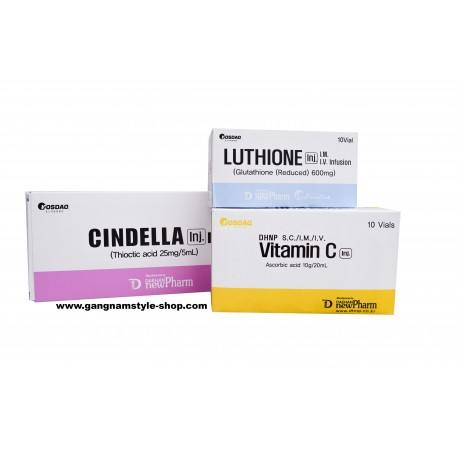 Cinderella Skin Whitening IV Injection Set of 10 Sessions