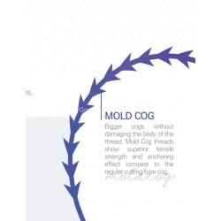 Glamour Molding cog PDO threads (20 pcs) W cannula