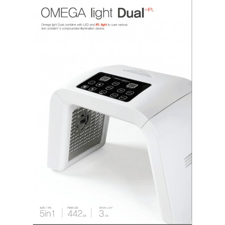 Omega dual pdt photodynamic therapy