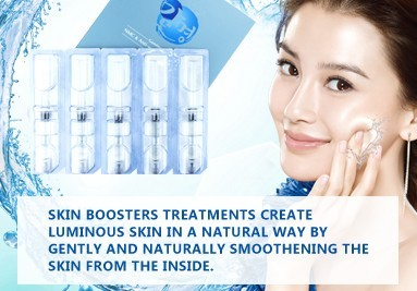 Hyaluronic Acid skinboosters treatment